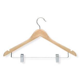 Great Price Basic Suit Hanger with Clips (Set of 12) ByHoney Can Do
