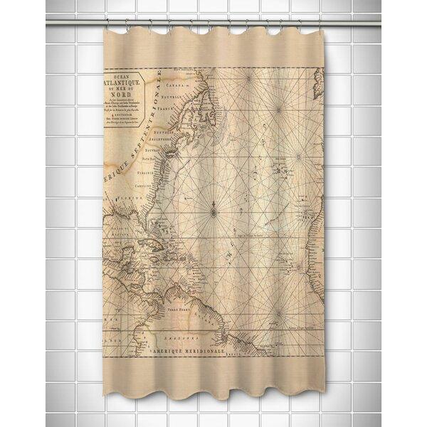 Old World Shower Curtain | Wayfair