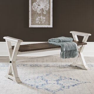 Almonte Wood Bench by Ophelia & Co. SKU:AE261837 Price Compare