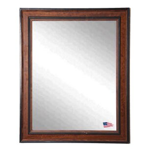 Darby Home Co Sowell Countryside Pine Wall Mirror