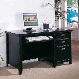 Compare prices Tribeca Loft Single Pedestal Computer Desk ByMartin Furniture