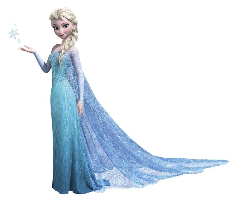 Room Mates 44 Piece Disney Frozen Elsa Giant Wall Decal  : 44PieceDisneyFrozenElsaGiantWallDecalSet from www.wayfair.com size 888 x 800 jpeg 62kB