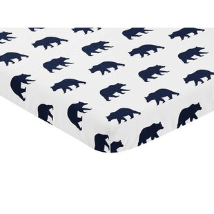Best Reviews Big Bear Mini Fitted Crib Sheet By Sweet Jojo Designs