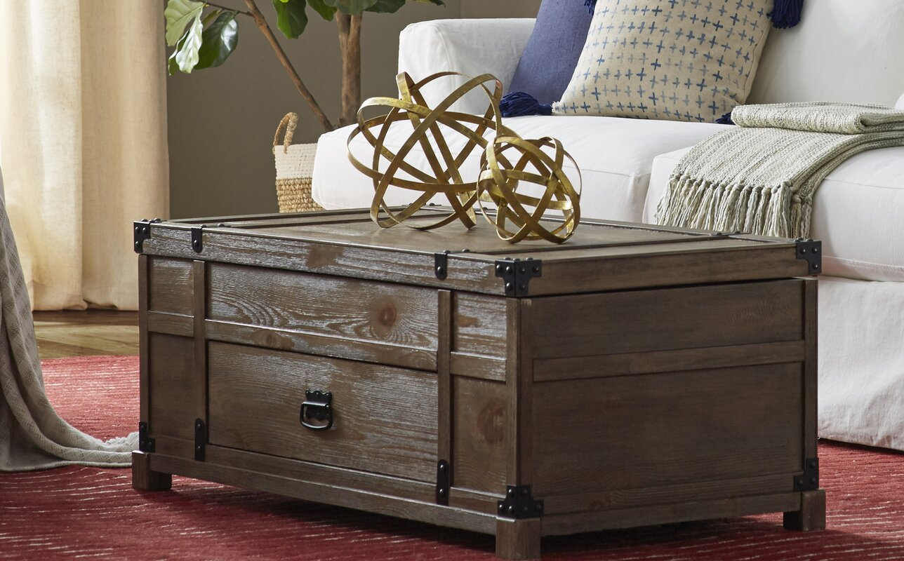 Emet Coffee Table with Lift Top
