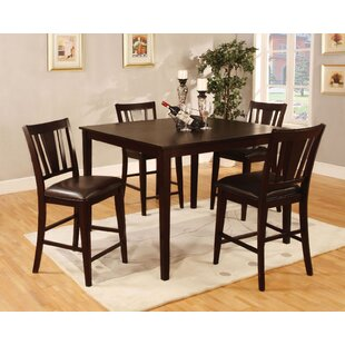 Long Ashton 5 Pieces Counter Height Dining Set By Winston Porter