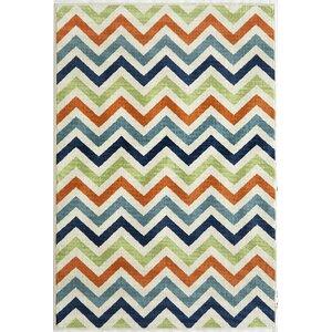 Halliday Green/Blue Indoor/Outdoor Area Rug