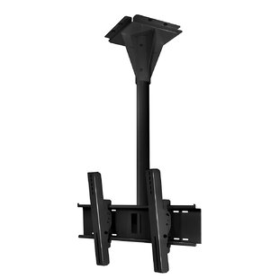Wind Rated I-beam TiltSwivel Universal Ceiling Mount for 32 - 65 Flat Panel Screens