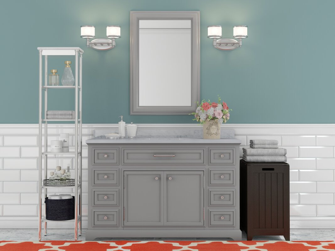 inch avola trends vanities bathroom set white finish contemporary vanity