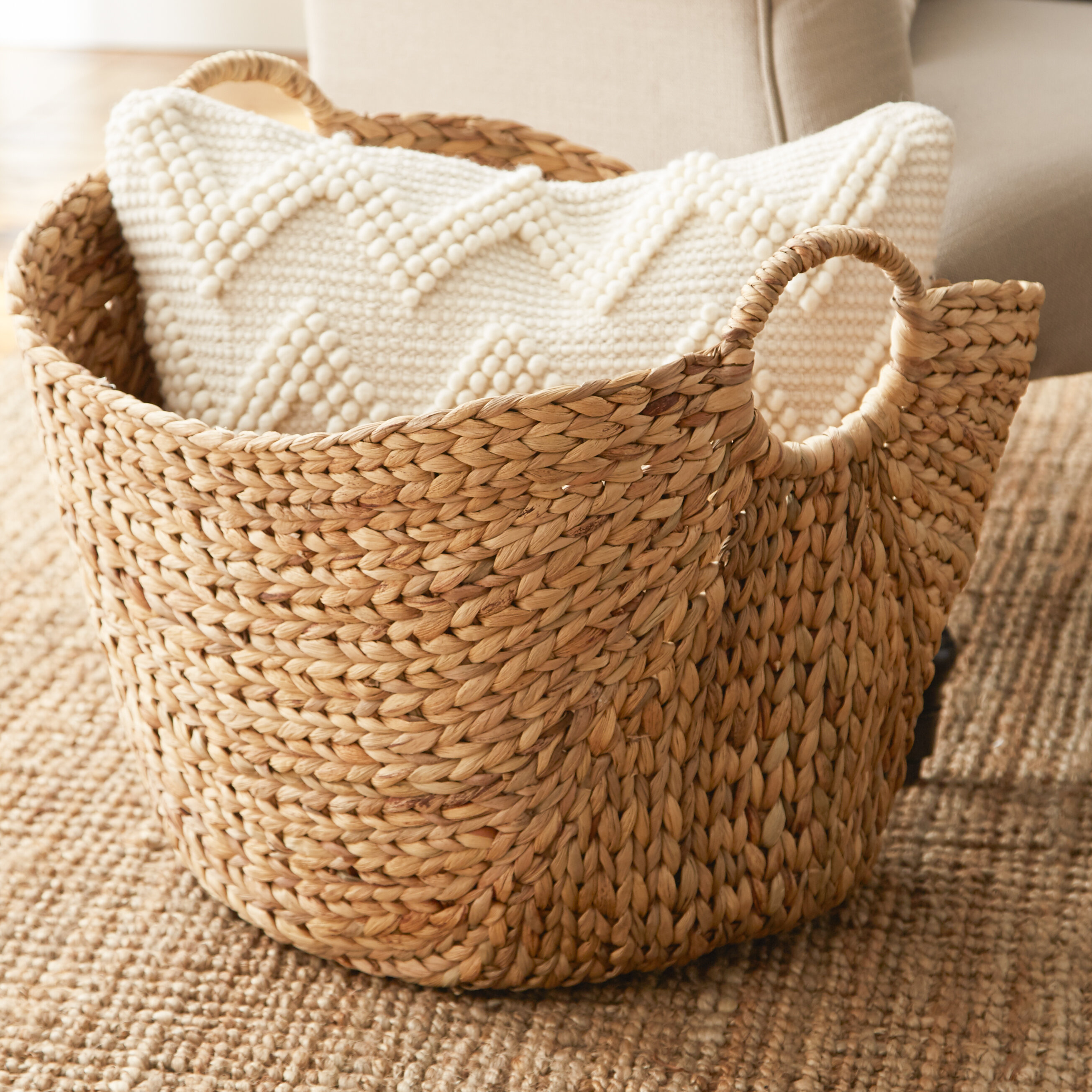 Laurel Foundry Modern Farmhouse Wicker Basket Reviews Wayfair