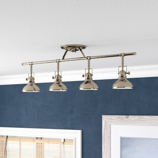 Modern contemporary dimmable led track lighting 4 allmodern save aloadofball Image collections