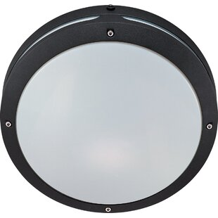Compare & Buy Dietz 2-Light Outdoor Flush Mount By Breakwater Bay