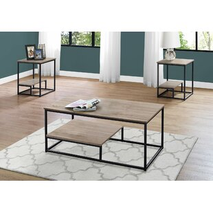 Buying Campagna 3 Piece Coffee Table Set ByEbern Designs