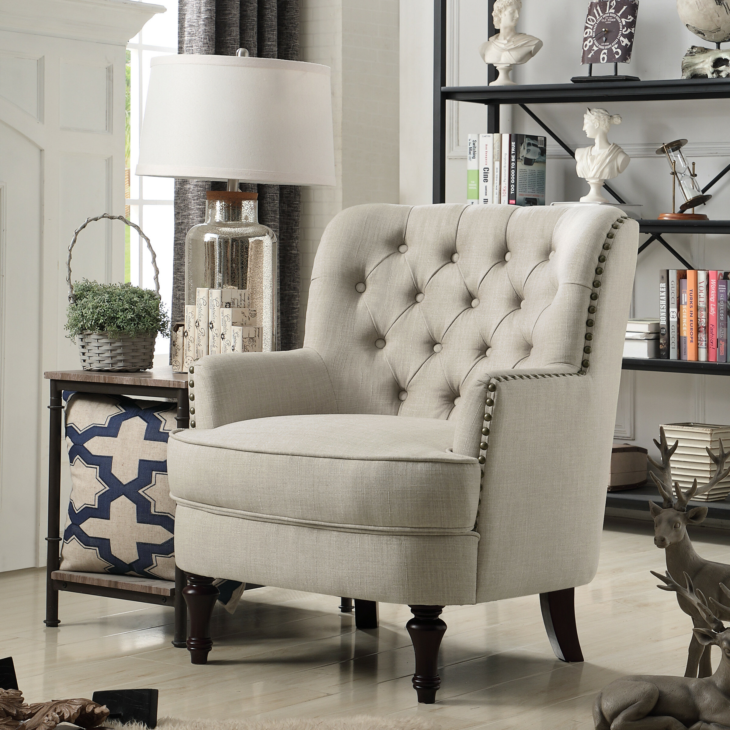 & Darby Home Co Jagger Arm Chair u0026 Reviews | Wayfair