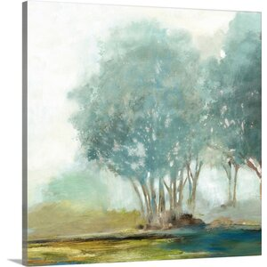 'Blueberry Hill II' Print on Canvas by Charlton Home