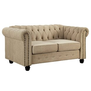 Louroujina Standard 35 Rolled Arms Loveseat by Charlton Home