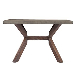 astle concrete dining table