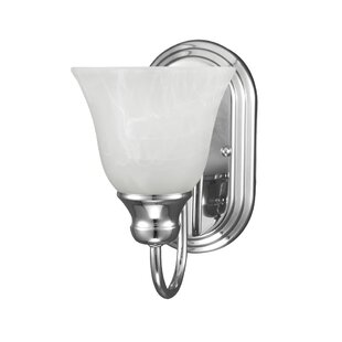 Affordable Hartford 1-Light Wall Sconce By Charlton Home