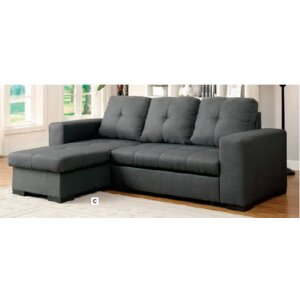 Candace Reversible Sleeper Sectional by Latitude Run