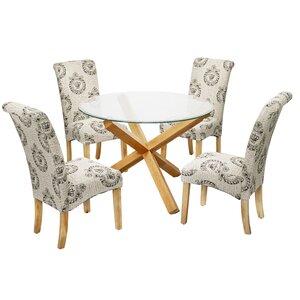 Essgruppe Oporto mit 4 Stühlen von Modern You