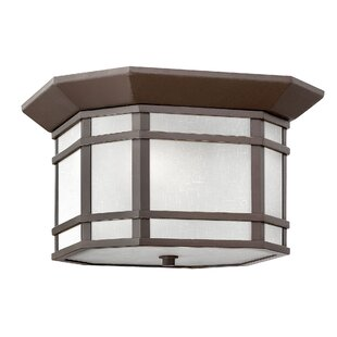Reviews Cherry Creek Outdoor Flush Mount By Hinkley Lighting