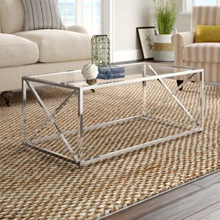 Geise Tempered Glass Coffee Table