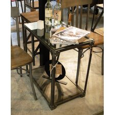 Industrial End Table by REZ Furniture