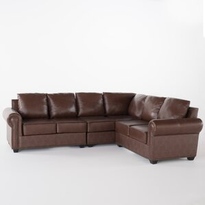 : nailhead leather sectional - Sectionals, Sofas & Couches