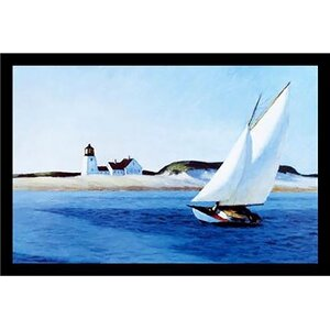 'The Long Leg American Museum Master' by Edward Hopper Framed Painting Print by Buy Art For Less