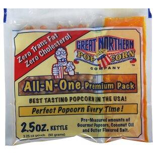 2.5 Oz. Popcorn Portion by Great Northern Popcorn