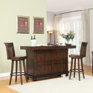 Tremper Bar Table Set By Millwood Pines