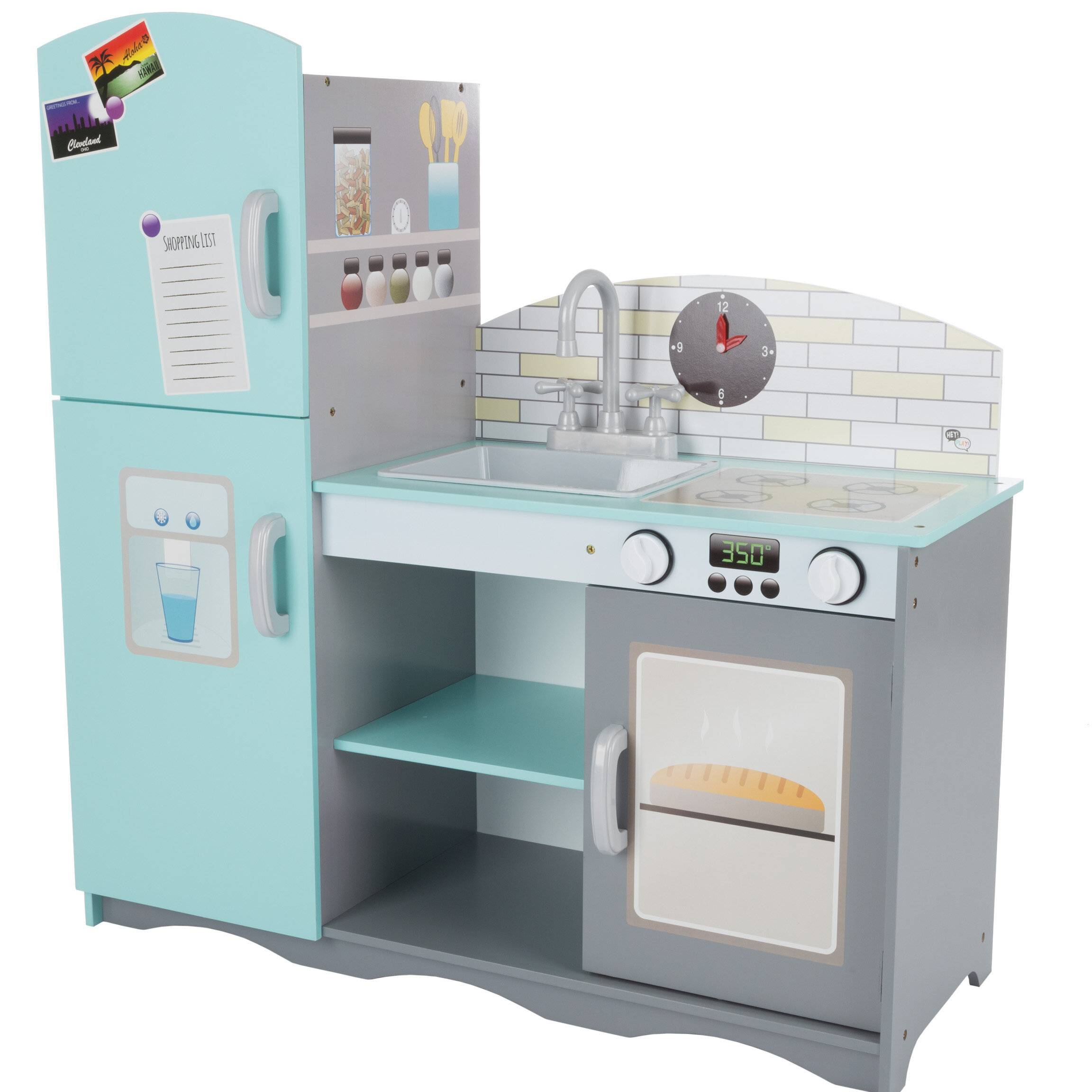 Hey! Play! Kitchen Set | Wayfair