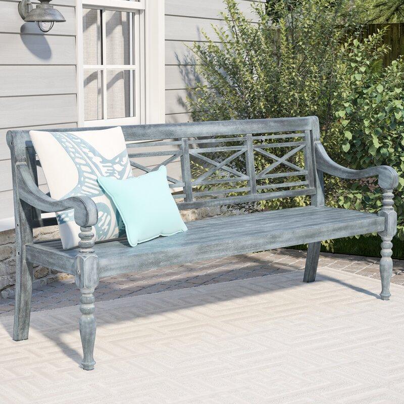 Attirant Putnam Acacia Wood Garden Bench