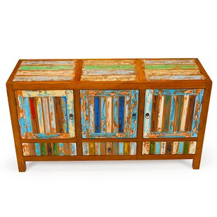 Delightful Forget Me Knot Reclaimed Wood Accent Cabinet