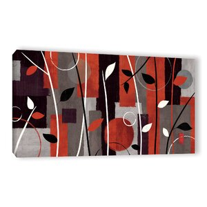 Contrast Graphic Art on Wrapped Canvas by Red Barrel Studio