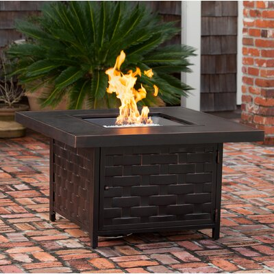 Armstrong Aluminum Propane Fire Pit Table Fire Sense