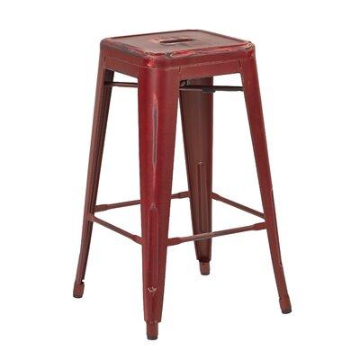 Modern Red Bar Counter Stools Allmodern