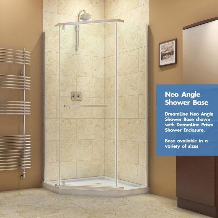 corner h shen d shower black finish door dreamline french sliding in x w doors enclosure