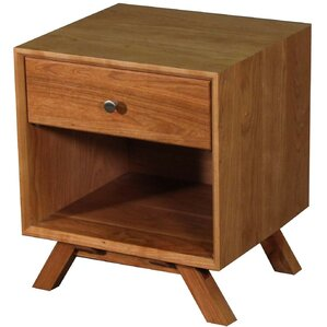 MidCentury 1 Drawer Nightstand by Wood Revival