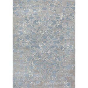 Emmett Vintage Blue/Gray Area Rug