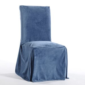 royal dining chair skirted slipcover