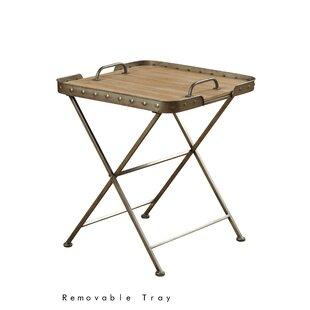 Online Reviews Waycross Folding End Table ByLaurel Foundry Modern Farmhouse