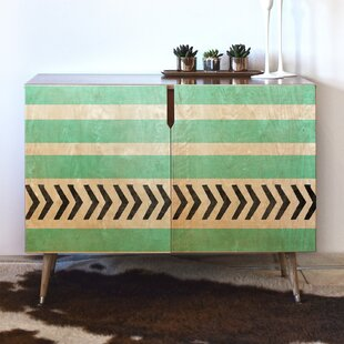Order Stripes and Arrows Accent Cabinet By East Urban Home