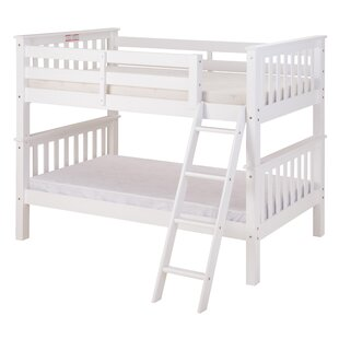 Clearance Lindy Mission Twin over Twin Bunk Bed By Harriet Bee