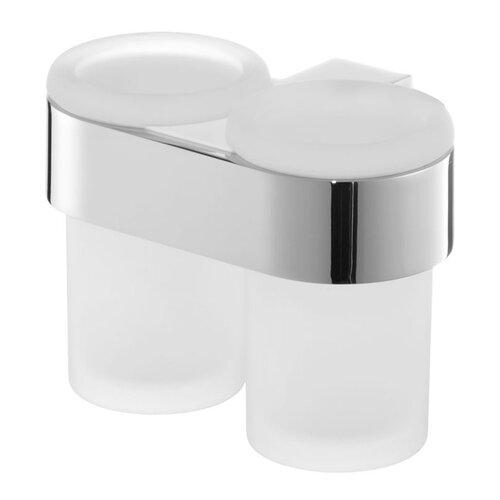 Zahnputzbecher und Becherhalter ClearAmbient Farbe: Silber | Bad > Bad-Accessoires > Sonstige Badaccessoires | ClearAmbient