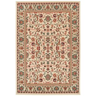 Kuhn Western Style Cream Ivory Indoor Outdoor Area Rug
