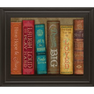 Life Lessons I  By Mollie B Framed Graphic Art by Classy Art Wholesalers