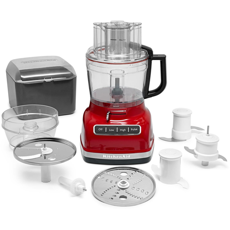 KitchenAid ExactSlice System 11 Cup Food Processor U0026 Reviews | Wayfair