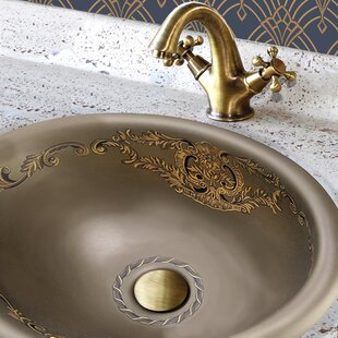 Inexpensive Regatta Ceramic Oval Drop-In Bathroom Sink with Overflow By Nantucket Sinks