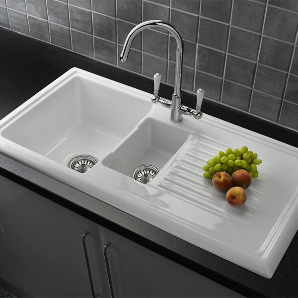 Kitchen Sinks Farmhouse Sinks Amp Pedestal Sinks Wayfair