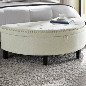 Jacqueline Upholstered Storage Bench by Chic Home Furniture